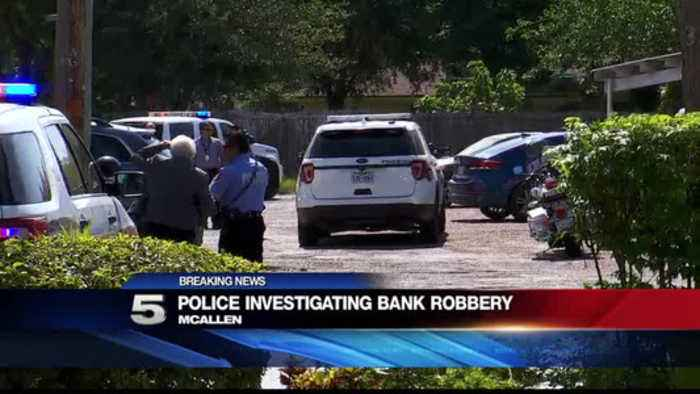 News video: Authorities Responding to Active Scene in Connection to Bank Robbery