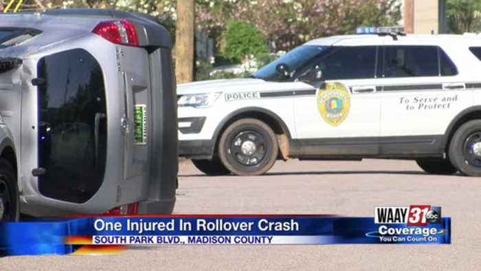 News video: South Park Blvd. Rollover Crash