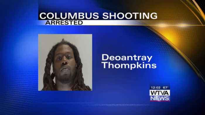 News video: Man arrested, charged following Columbus shooting