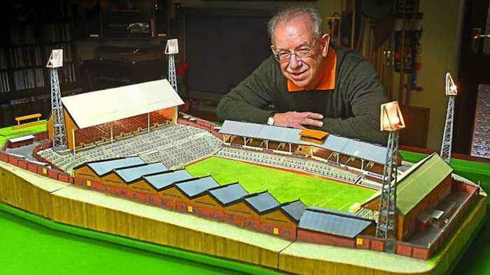 Matchstick molineux: Fan builds replica of club in matchsticks