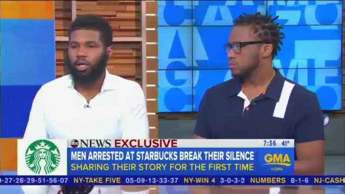 """News video: Rashon Nelson wants people to see Starbucks incident as """"stepping stone"""" that leads to """"true change"""""""