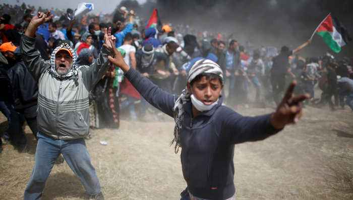 News video: Israel Mows Down Unarmed Gaza Protesters for 3rd Week as US Blocks UN Investigation