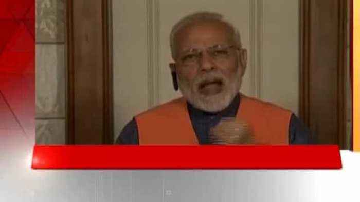 News video: PM Modi attacked the Congress while interacting with Karnataka BJP workers