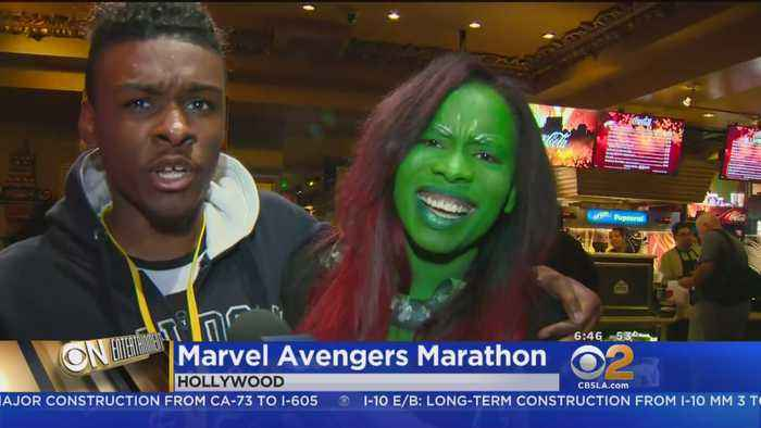 News video: Marvel Fans Prepare For 'Infinity War' With Movie Marathon