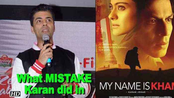 "News video: What MISTAKE Karan did in SRK's ""My Name is Khan"" !"