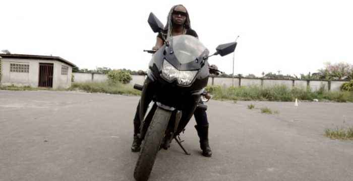 Nigerian female bikers