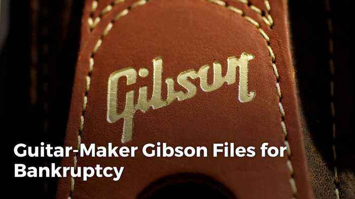 Guitar Maker Gibson Files for Bankruptcy recommend