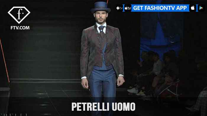 News video: PETRELLI UOMO Exclusive Luxury Special Menswear Collection | FashionTV | FTV