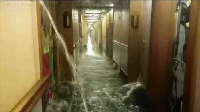 Water Line Break Floods Carnival Cruise Ship One News