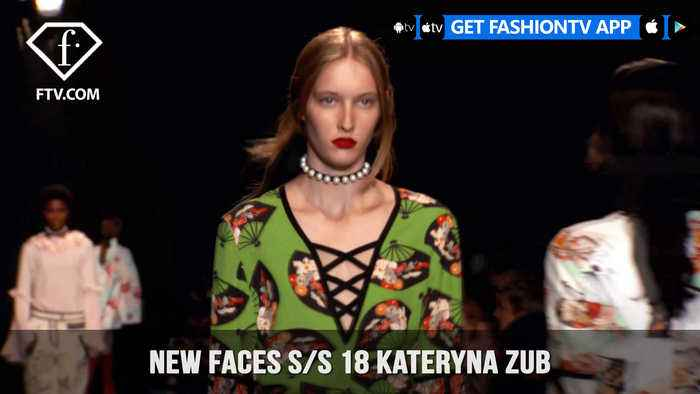 News video: Kateryna Zub New Faces On The Runway Spring/Summer 2018 | FashionTV | FTV