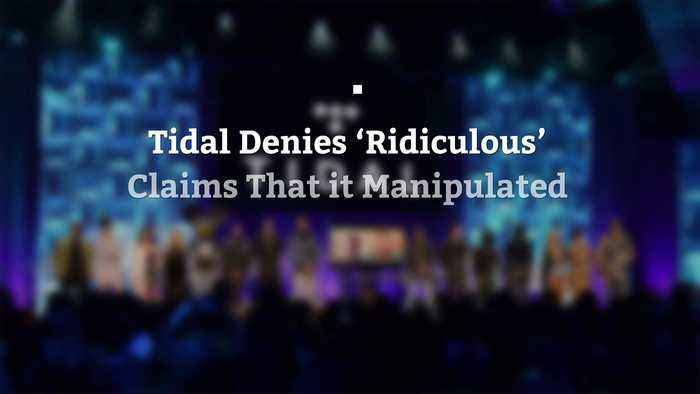 Tidal Denies 'Ridiculous' Claims That it Manipulated Streaming Numbers