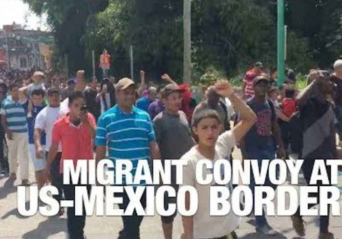 News video: March of Central American Migrant Convoy to US Border Causes Political Backlash