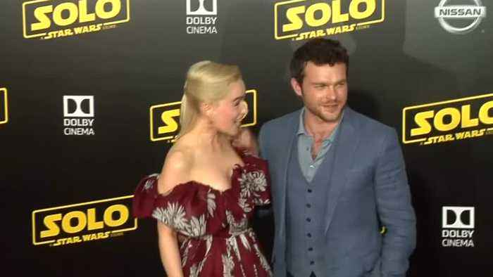 Stars strut the red carpet at 'Solo' premiere