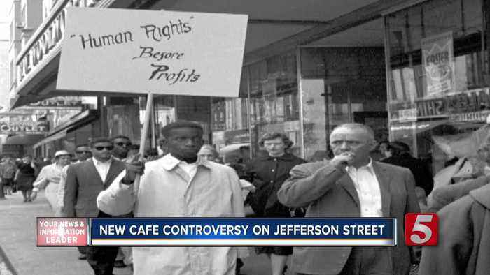 News video: Initial Plan To Name Cafe 'The Sit In' Causes Controversy