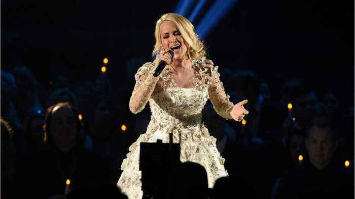 News video: Carrie Underwood After Injury