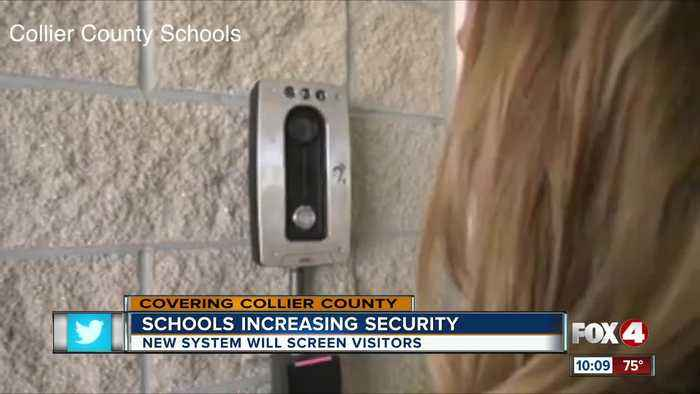News video: Collier schools implementing new security measures