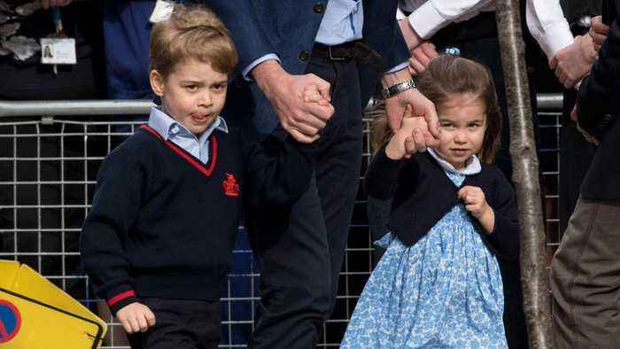 News video: Prince George and Princess Charlotte Confirmed as Page Boy and Bridesmaid in Royal Wedding