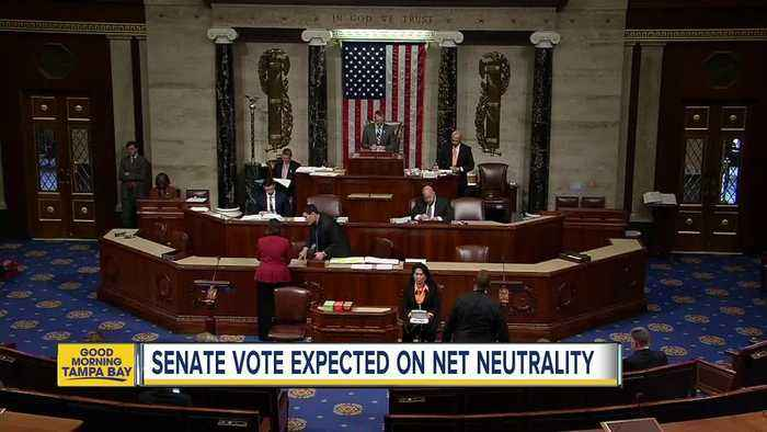 News video: Senate vote expected on net neutrality