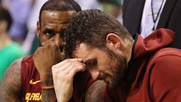 News video: Nick Wright reacts to LeBron's Cavs falling to the Celtics in Game 2 of the Eastern Conference Finals