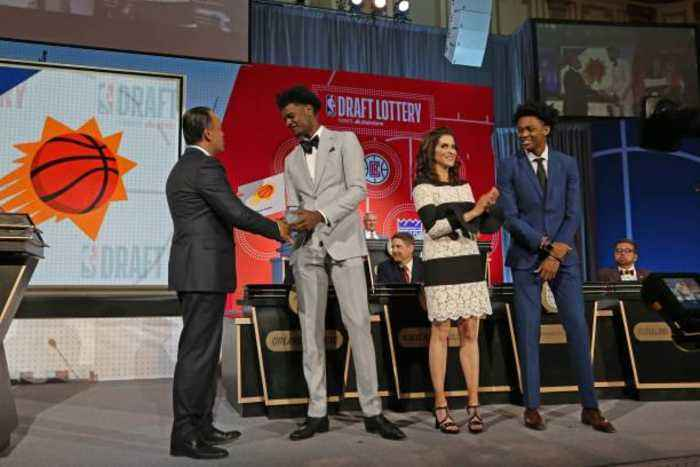 Phoenix Suns Win NBA Draft Lottery, Will Have No. 1 Pick in Draft