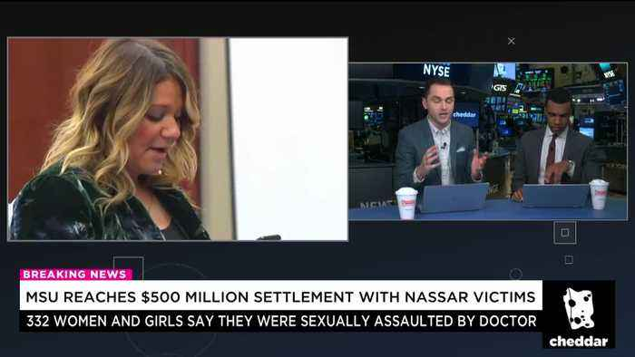 News video: Michigan State Univ. Reaches $500 Million Settlement With Larry Nassar Victims
