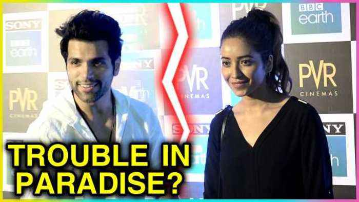 News video: Asha Negi and Rithvik Dhanjani Spotted SEPARATELY At BBC Earth Doccumentary Screening