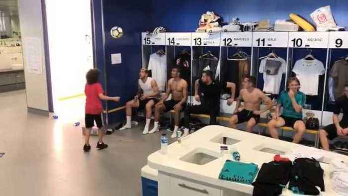 Marcelo's son goes viral with impressive Real head tennis challenge