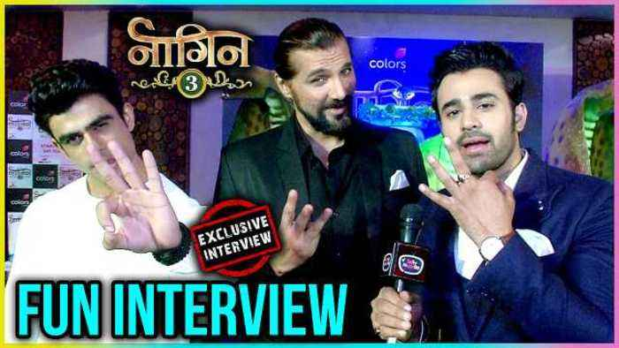 Pear V Puri and Chetan Hansraj FUN INTERVIEW  Naagin 3 EXCLUSIVE Interview