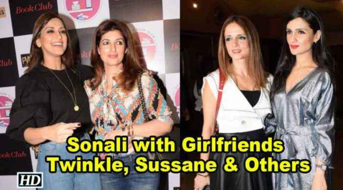 News video: Sonali Bendre's Book Club PREMIER | Twinkle Khanna| Sussane Khan