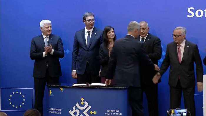 News video: EU's summit with Western Balkan nations promises path to membership
