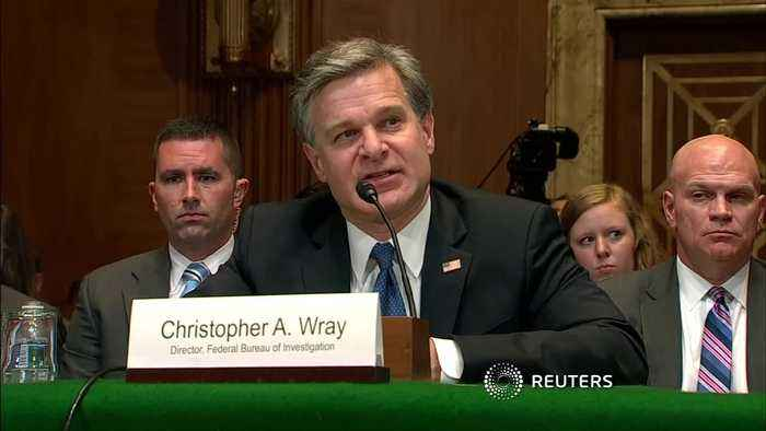 "News video: FBI chief ""deeply concerned"" about China's ZTE"