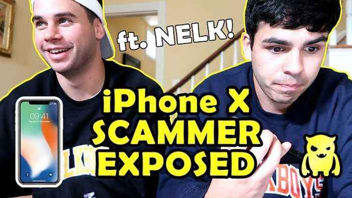 iPhone X Scammers on Craigslist *EXPOSED* [ft  NELK]