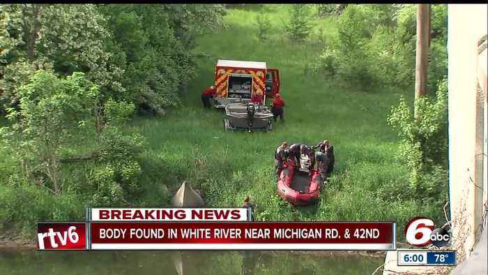 News video: Body recovered from White River on Indy's northwest side, death investigation underway