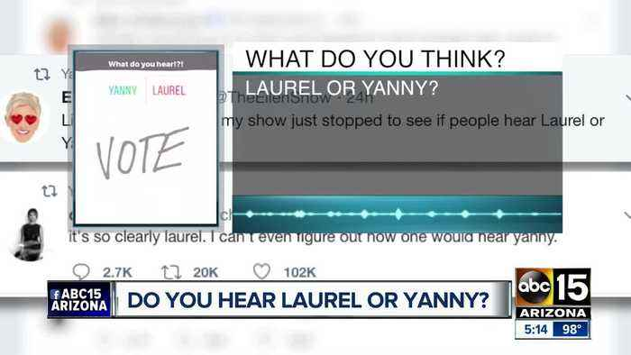 News video: Okay, so it is Laurel or Yanny?