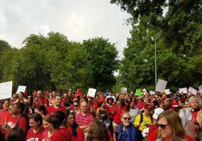 North Carolina Teachers Rally Over Wages, Education Funding