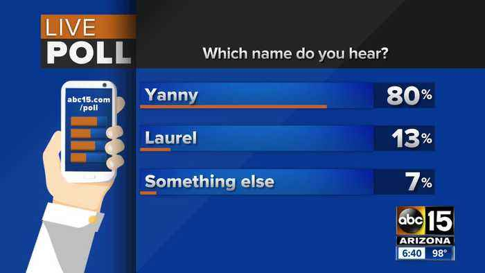 News video: Which name do you hear? Yanny or Laurel? Experts weigh in!