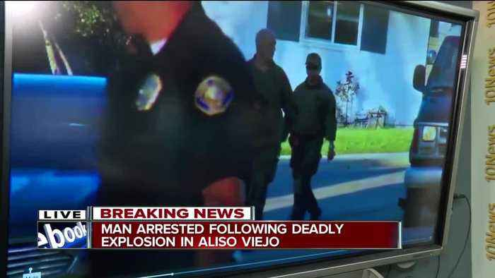 News video: Arrest made in Aliso Viejo explosion investigation