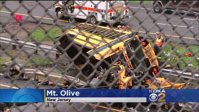 News video: 1 Teacher, 1 Student Killed In N.J. School Bus Crash