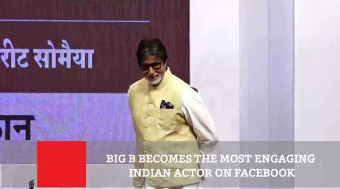 News video: BIG B Becomes The Most Engaging Indian Actor On Facebook