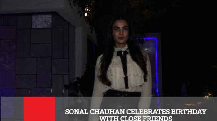 Sonal Chauhan Celebrates Birthday With Close Friends