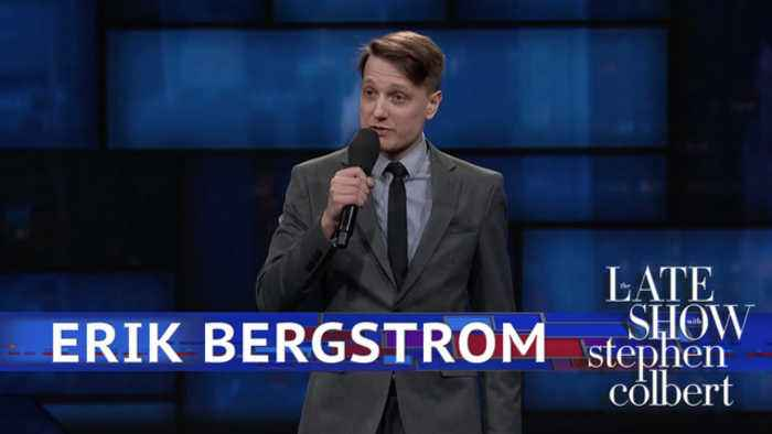 News video: Erik Bergstrom Performs Standup