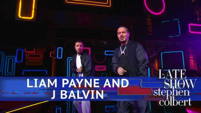 News video: Liam Payne And J Balvin Perform 'Familiar'