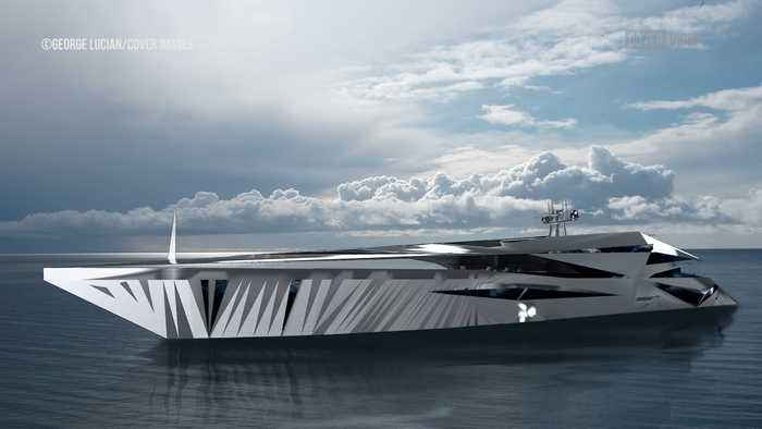 Superyacht Design Is Based On Roswell UFO