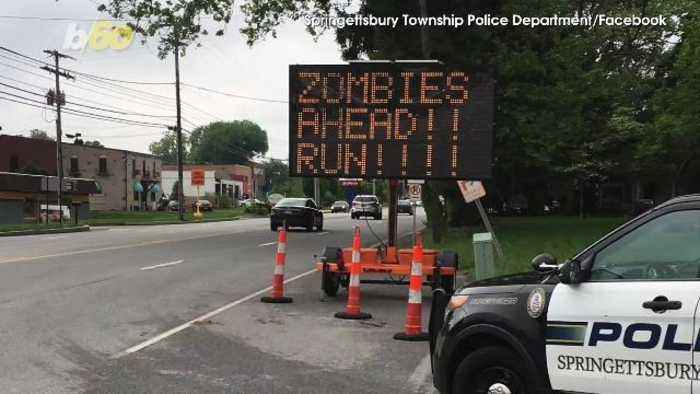 Police Reassure Public 'No Reports of Zombies' in Pennsylvania