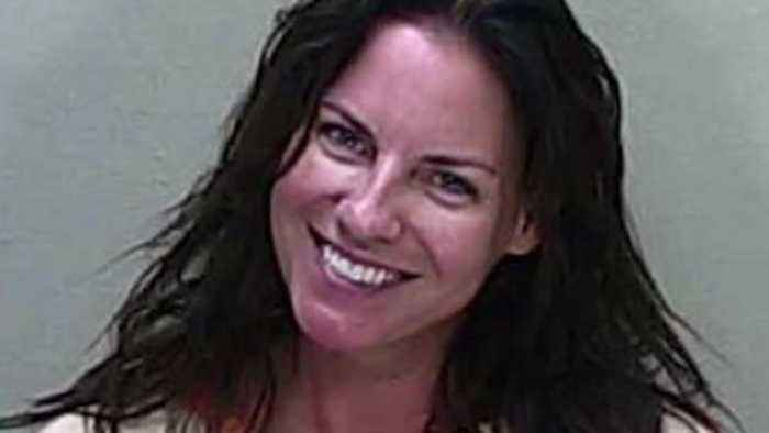 Woman smiles in mugshot after deadly DUI crash, police say