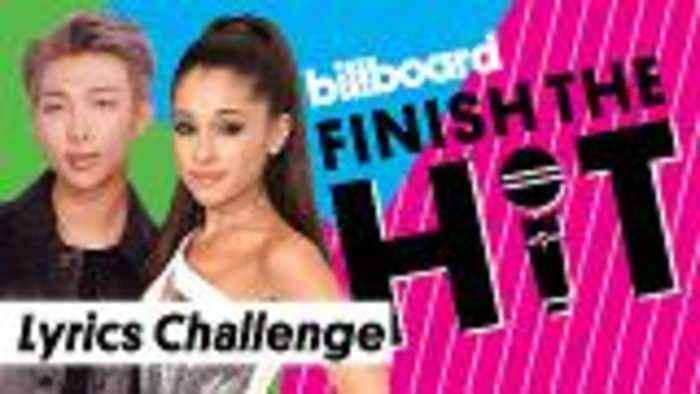 Finish The Hit: Ariana Grande, BTS Billboard Music Awards Performers Lyrics Challenge