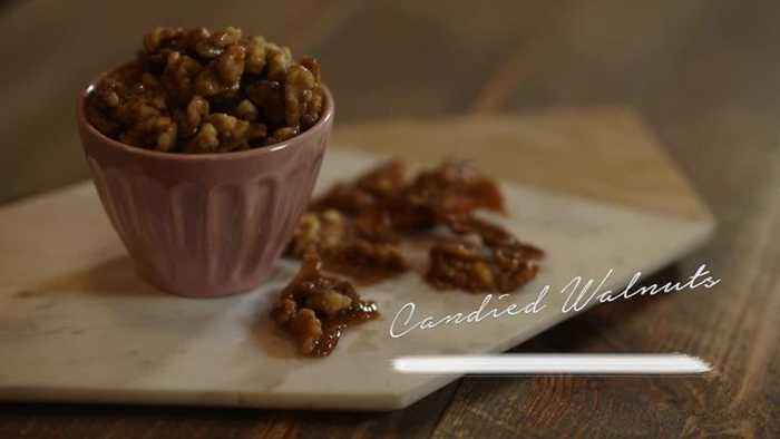 Simply Sweet Allison Candied Walnuts