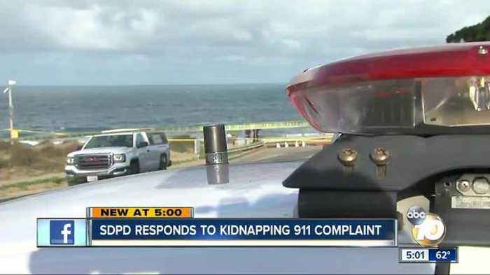 News video: SDPD responds to kidnapping 911 complaint