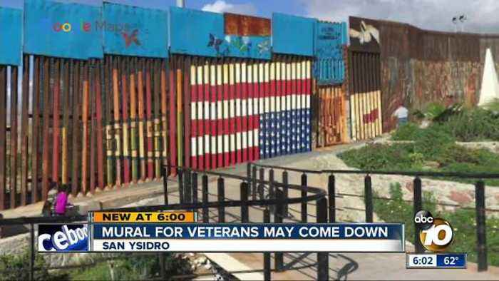 News video: Flag mural in Mexico may come down