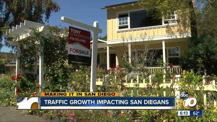 News video: Traffic forcing San Diegans to rethink housing